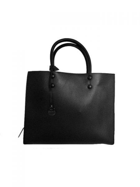 Handtas Kenda zwart zwarte dames tassen schoudertas handtassen dames it bags fashion 2019 tassen kopen