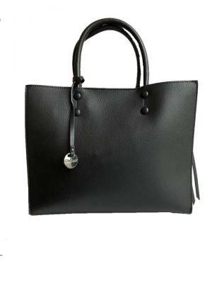 Handtas-Kenda-zwart zwarte dames-tassen-schoudertas-handtassen-dames-it-bags-fashion-2019-tassen-kopen-ruime-