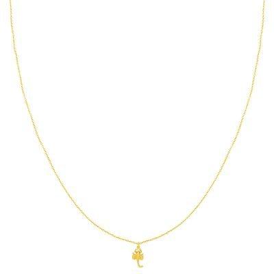 Ketting Scorpio goud gouden dames kettingen kleine schorpioen bedel musthave fashion dames sieraden kopen bestellen