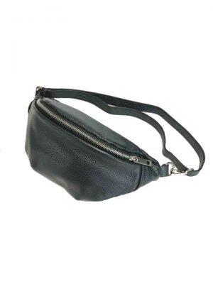 Leren Heuptas Simple zwart zwarte fannypack beltbag riemtassen leder leer heuptassen kopen fashion - kopie