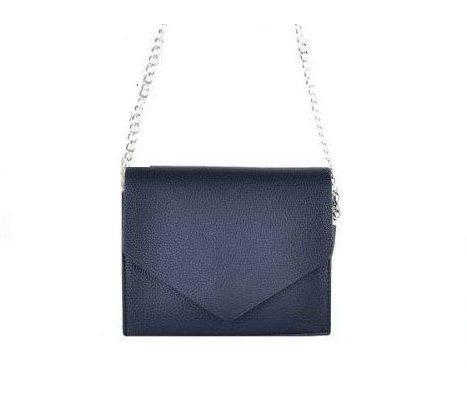 Schoudertas Fancy zwart zwarte kleine dames tasjes tassen fashion bags kopen goedkoop giuliano ketting hengsel bestellen