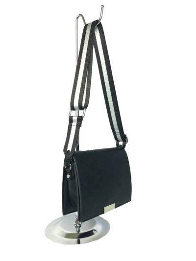 9e08bf7d9d4339 Schoudertas Lines | Trendy dames tassen met gestreepte schouderband