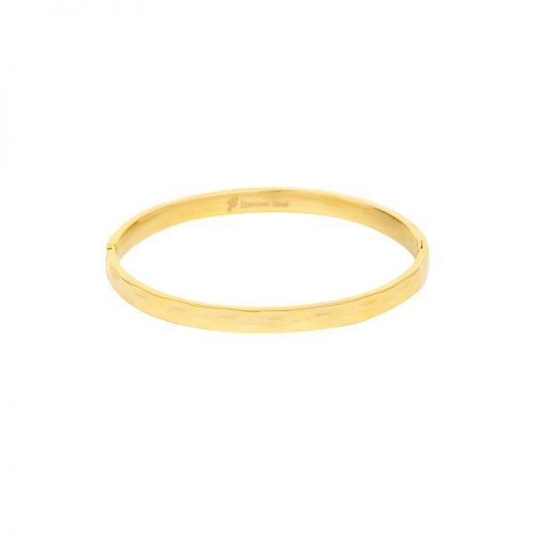 Armband Structure goud gouden rvs armbanden roest vrij staal bracelet relief fashion kopen
