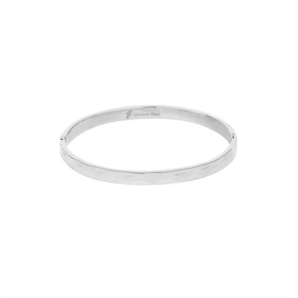 Armband Structure zilver zilveren rvs armbanden roest vrij staal bracelet relief fashion kopen