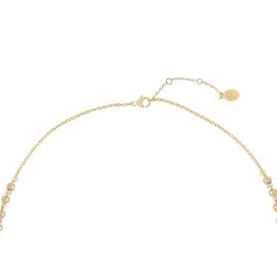 Ketting Rosery Rounds goud gouden ketting kruis bedel maria fashion ketting necklage kopen achter