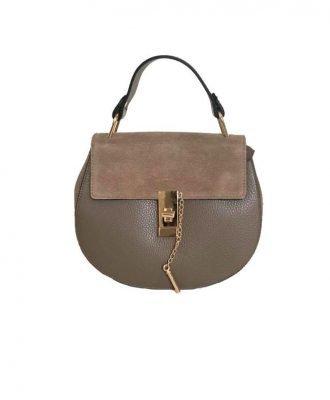 Leren-tas-Chloé-taupe bruin-musthave-saddle-bag-leer-suede-musthave-tassen-online-kopen-goedkoop-luxe-it-bags