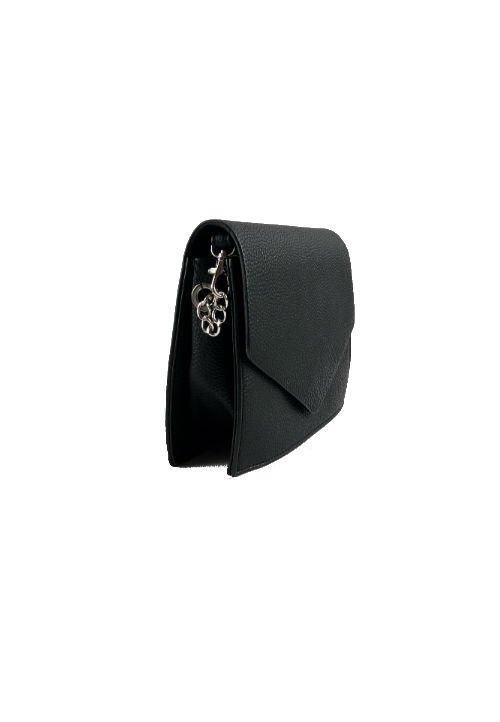 Schoudertas-Fancy-zwart-zwarte-kleine-dames-tasjes-tassen-fashion-bags-kopen-goedkoop-giuliano-ketting-hen