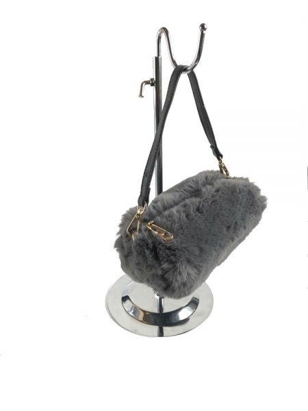 Schoudertasje-Faux-Fur-grijs-grijze-wollen-tasjes-kort-lang-hengstel-musthave-fashion-schoudertas-dames-ko
