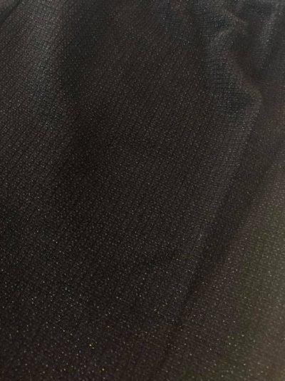 Zwarte Legging Shiney zwart leggings dames stretch kleding glitters glans kopen feest
