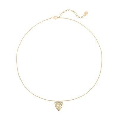 Ketting Panter Dreams goud gouden schakelketting dierenkop bedel trendy sieraden bestellen