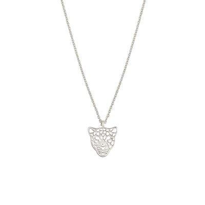 Ketting Panter Dreams zilver zilveren schakelketting dierenkop bedel trendy sieraden kopen