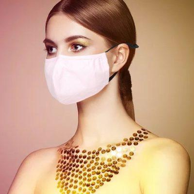 Mondkapje Roze pink trendy uni kleurige mondkapjes bescherming mondmaskers leuke bescherming katoenen wasbaar