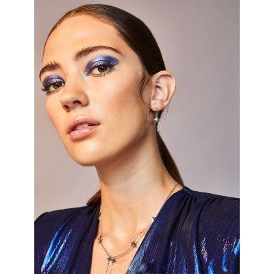 Oorbellen Saturn zilver zilveren Ketting starry sky oorbel planeten oorknopjes sieraden dames online kopen