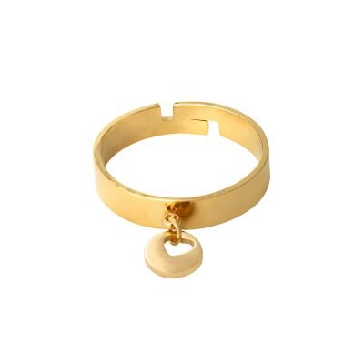 Ring Show me Love goud-gouden-dikke dames-ringe met hart bedel online-sieraden-fashion-musthaves-rings-online
