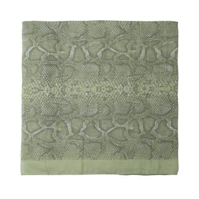 Sjaal Shiny Snake groen groene dames sjaals online kopen fashion bestellen details