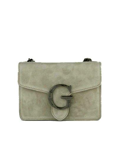 Suede-Tas-G-taupe-bruin-leren-tassen-lederen trendy tas luxe-it-bags-kopen-fashion-
