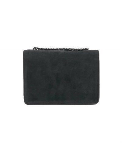 Suede Tas G zwart zwarte leren tassen guiliano luxe it bags kopen goedkoop fashion achter