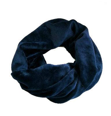 Brede Velvet Haarbanden blauw blauwe dames velours haarbanden haaraccessoires winteraccessoires kopen bestellen