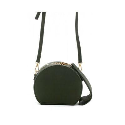 Half-Ronde-Tas-Must-groen-groene-ronde-dames-tassen-kunstleder-rits-polsbandje-lang-hengsel-kopen-tassen-online-400x587