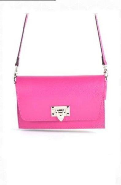 Schouder-Clutch-Tas-Berry-roze pink -schoudertassen-clutches-zilver-slot-kopen-giuliano-leder-860x701