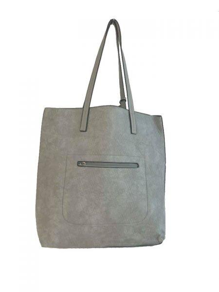 Shopper Misty grijs grijze shoppers tassen etui schooltassen tas kopen giulliano bestellen achter