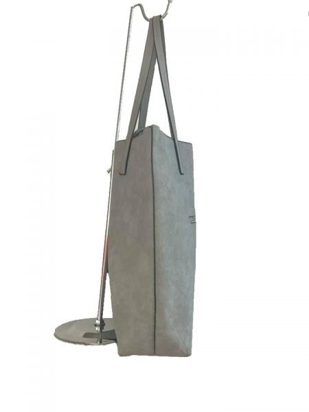 Shopper Misty grijs grijze shoppers tassen etui schooltassen tas kopen giulliano bestellen side