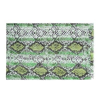 Sjaal Lovely Snakes groen groene dames sjaals sjaaltjes slangenprint snakeprint kopen bestellen details