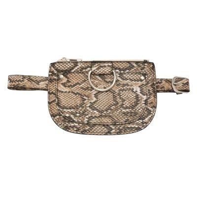 Beltbag Snakes beige nude creme bruin slangenprint riem tasjes riemtas heuptassen fannypack yehwang kopen