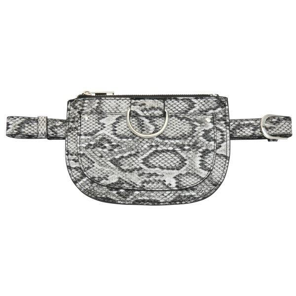 Beltbag Snakes grijs grijze slangenprint riem tasjes riemtas heuptassen fannypack yehwang kopen
