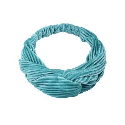 Haarband Velvet Ribbels Turqouise dames haarbanden mint haaraccessoires headbands kopen
