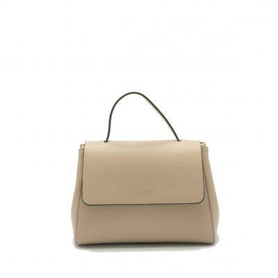 Leren Handtas Lena roze pink tassen giuliano dames luxe kantoortassen fashionbags kopen achterkant