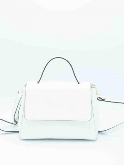 Leren-Handtas-Lena wit witte tassen-giuliano-dames-luxe-kantoortassen-fashionbags-kopen-