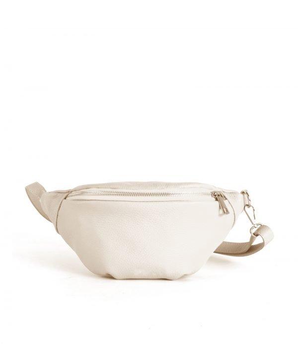 Leren-Heuptas-Simple-beige nude-fannypac