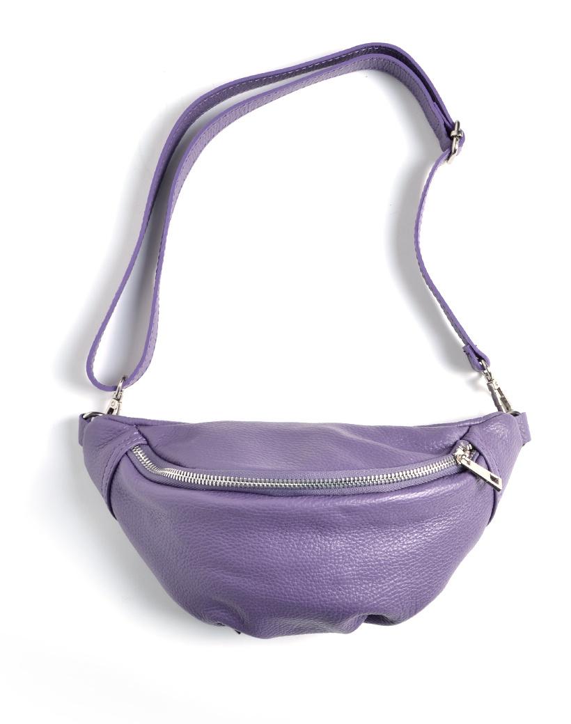 Leren-Heuptas-Simple-paars paarse-fannypack-beltbag-heuptassen-leder-leer-heuptasjes-kopen-fashion