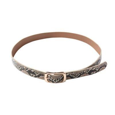 Riem Cool Snake beige dames riemen slangenprint snake print trendy riemen belts kopen