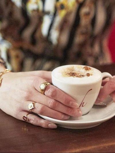 Ring The Look Goud gouden dames open ringen verstelbare fashion oog detail rvs ringen kopen details