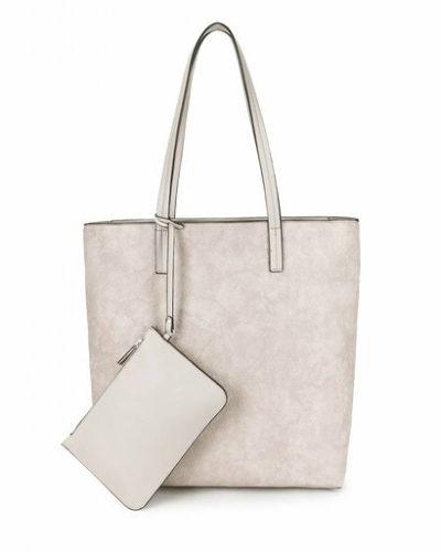 Shopper Misty beige creme nude handtassen trendy shoppers tassen etui schooltassen tas kopen giulliano bestellen