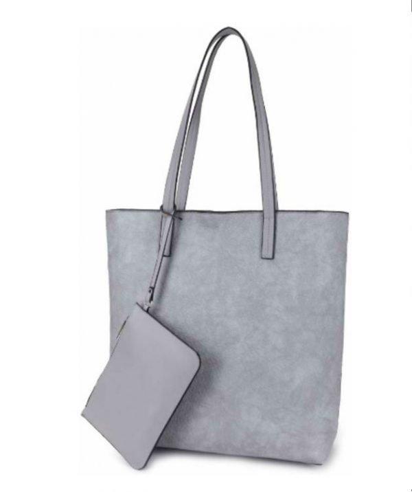 Shopper-Misty-grijs grijze shoppers-dames-tassen-giliano-tas-kunstleder-etui-kopen-fashion-bags-1
