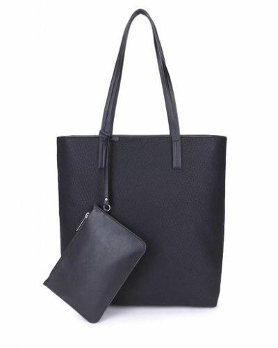 Shopper Misty zwart zwarte shoppers tassen etui schooltassen tas kopen giulliano bestellen