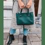 Tas My Style groen groene dames tassen handtassen schoudertassen kopen goedkope tassen