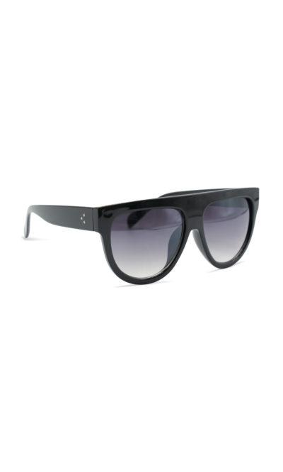 Zonnebril Kim Sunnies half montuur zwart zwarte trendy dames brillen zonnebril designer inspired look a like bestellen