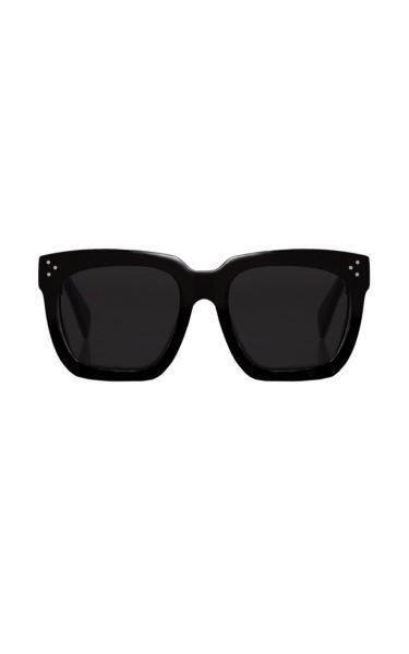 54838fd0e437b3 Zwarte Zonnebril KoKo zwart donker designer inspered dames zonnebrillen  trendy brillen kopen