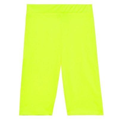 Biker Short Neon geel gele neon cycling fietsbroek korte leggings wielrenbroekken kopen bestellen fashion
