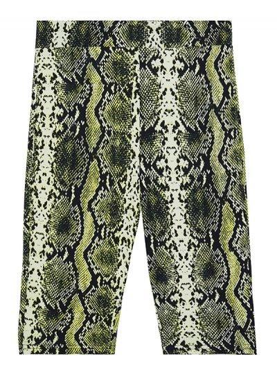 Biker Short Snake slangenprint cycling fietsbroek snakeprint korte leggings wielrenbroekken kopen bestellen fashion