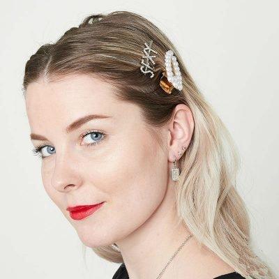Haarclip Pearl It grote haar pinnen haarclips met parels dames haar accessoires kopen yehwang bestellen