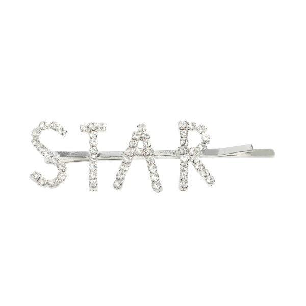 Haarclip Star Diamonds zilveren zilveren haar pinnen haarclips dames grote tekst kopen yehwang