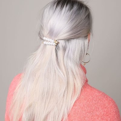 Haarclip Very Pearly haarklepjes haarpinnen haar accessoires dames vrouwen fashion statement kopen details