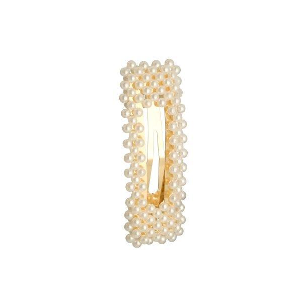 Rechthoekige Haarpin Pearl With Me vierkante haarpin haarclip haar accessoires dames parels kopen trendy trends