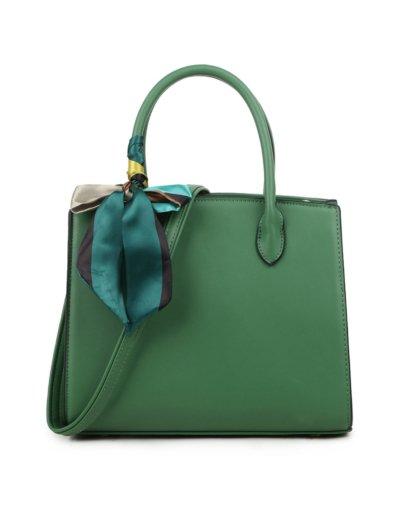 Handtas Pretty Simple groen groene dames tassen sjaaltje luxe trendy kopen