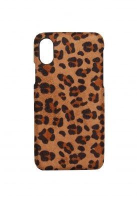 Iphone Hoesje Suede Leopard bruin bruine telefoonhoesjes Iphone 6 7 8 kopen trendy